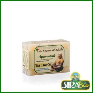 Sapone Naturale Vegetale - Tea Tree Oil - 100g