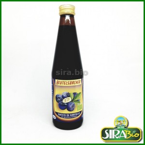Succo di Mirtilli Neri Bio - 330 ml