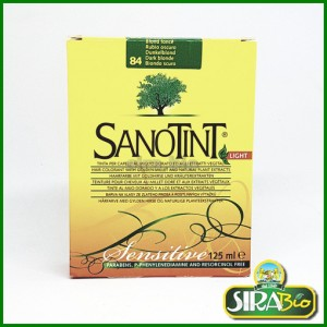 Tinta per Capelli - Sanotint light Sensitive Biondo scuro 84