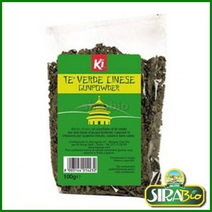 Tè Verde Cinese Gunpowder Bio - 100 g