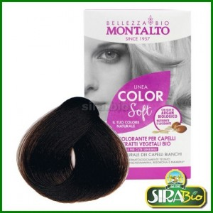 Kit Colorante per Capelli - Linea Color Soft Castagna 5.9