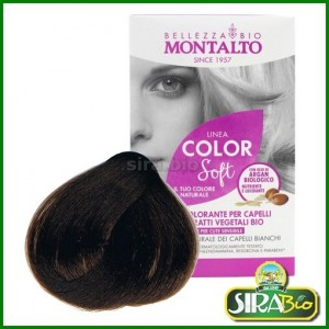 Kit Colorante per Capelli - Linea Color Soft Biondo Scuro 6.0