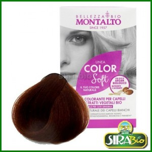 Kit Colorante per Capelli - Linea Color Soft Biondo Scuro Rame 6.4