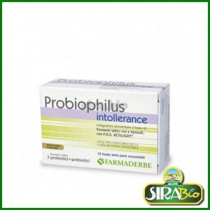Probiophilus Intollerance - 12 buste stick pack