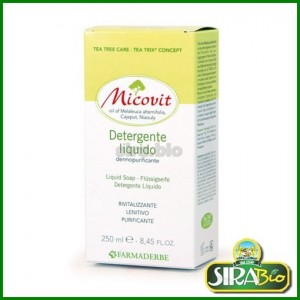 Micovit Tea Tree Detergente Liquido - 250 ml