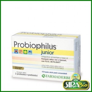 Probiophilus Junior - 12 buste stick pack