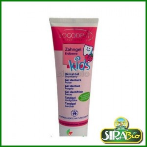 Dentifricio Gel Fragola - Bio - 50 ml